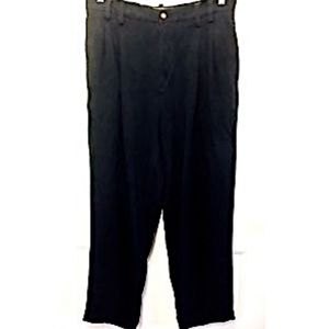 Other - Tommy Bahama Men's Dress Pants Black Silk 35 Relax